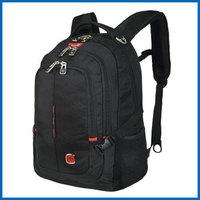 商务背包001双肩背包 防水面料时尚休闲双肩笔记本电脑包14.6寸 男女商务双肩包 SA-9393III黑色